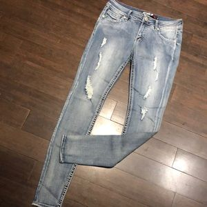 Warehouse One Bottoms Up Skinny Jeans. NWT!